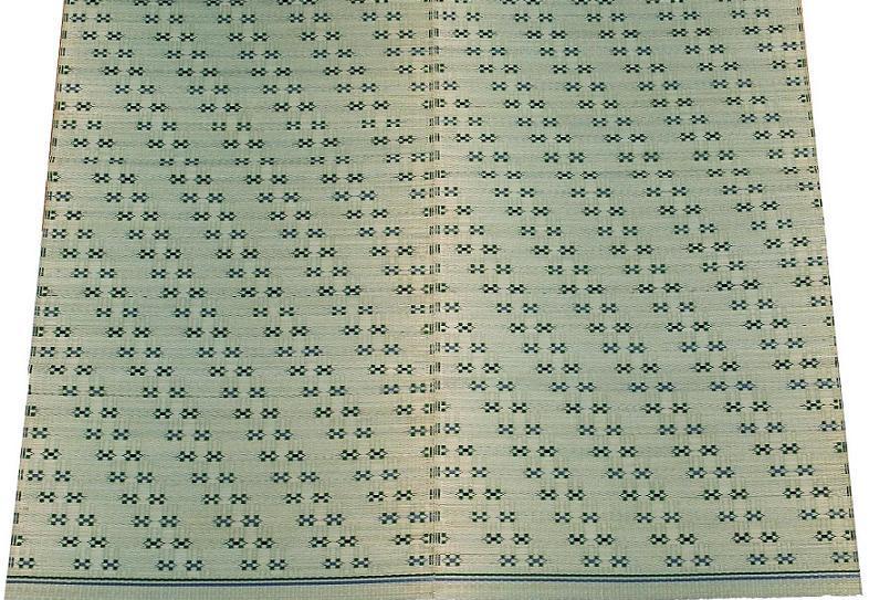 【純国産品】【五八間6帖】花ござ『平成小紋』岡山県産