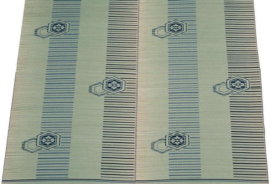 【純国産い草ラグ】『平安』176x250cm岡山県産裏張りナシ
