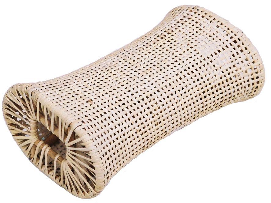 インドネシア製サイズ:約18x30x12cm 特売 籐枕 格安激安