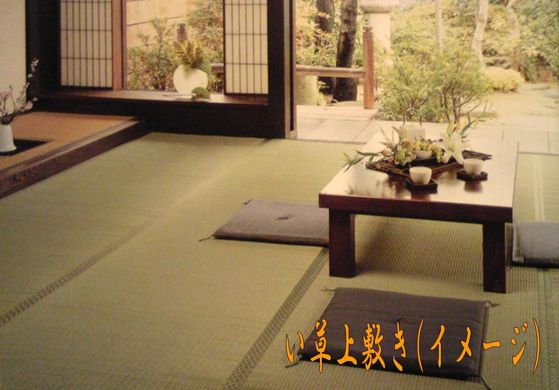10帖(別注サイズ)上敷き『匠』熊本産ひのみどり草使用