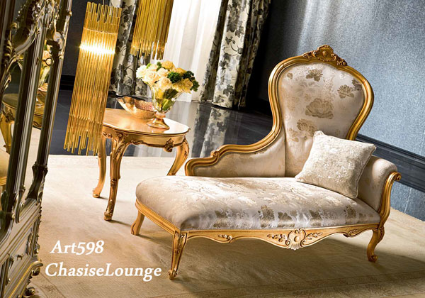 Superieur Italy Luxury Furniture Silk Single Dormouse Chaise Antique Italy Furniture  Rococo