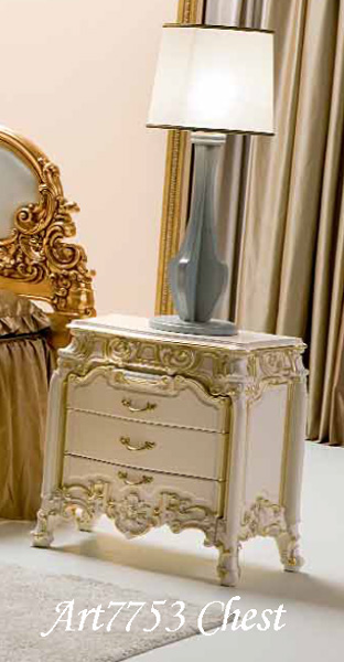 Italian High Quality Furniture [SILIK] Bed Table [PANDORA/7753] Antique  Italy Furniture Rococo