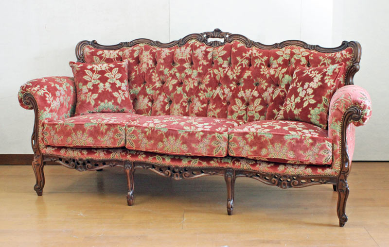 European Antique Style Made In Italy Jinhua Mountain Red Couch Katy Gt Mobile Sedan Kati Mobilsedia Full Of Rococo Decorate