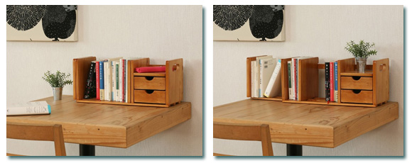 Industrial Book Stand Tabletop Industrial Wooden Slide Desk Bookcase, Book  Stand Wooden Kids Tabletop Slide