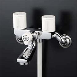 KVK 水栓金具2ハンドルシャワー(吐水口固定)【KF2GN3】