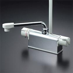 ◆在庫有り!台数限定!KVK 水栓金具【KF771Y】デッキ形サーモスタット式シャワー(取付ピッチ120タイプ)