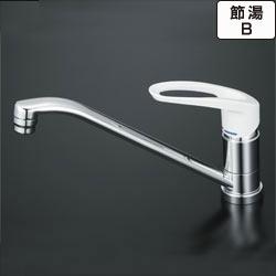▽KVK水栓金具【KM5011Z】流し台用シングルレバー式混合栓寒冷地用