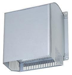 三菱 有圧換気扇システム部材 【PS-20CSD】(PS20CSD) 業務用有圧換気扇用 給排気形ウェザーカバー ステンレスタイプ 防火ダンパー付タイプ・一般用