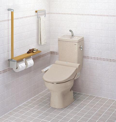 #ミ#TOTO 組み合わせ便器【CS70B+SH60BA】 便器+タンクのみ 床排水 手洗いなし