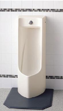 TOTO プッシュボタン小便器セット品番【UFJ300CVZ】床置式鉛排水管用