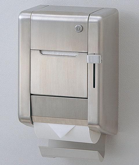 TOTO パブリック向け【YH121MK】かぎ付スペア付紙巻器(縦型タイプ)