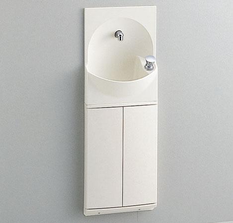 TOTO 手洗器付キャビネット 【YSC46SX #NW1】ホワイト ハンドル水栓 〔セット品番〕