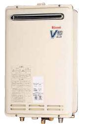 ###リンナイ ガス給湯器 【RUK-V1610BOX-E】給湯専用 16号 壁組込設置型