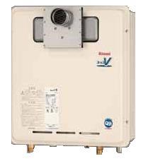 リンナイ ガス給湯器 【RUX-V16PST-S】給湯専用 16号 PS扉内設置型/PS延長前排気型