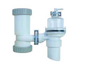 #イトミック 部材【BCH-2K】膨張水排出装置流し(塩ビ管) 呼び径40mm用開放式