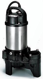 ツルミポンプ 汚物用 【80PU23.7】水中ハイスピンポンプ 三相200V 非自動形