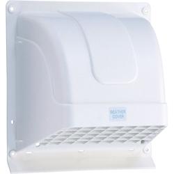 WK NEW売り切れる前に☆ 15W 高須産業 ホワイト WK-15W 激安価格と即納で通信販売 ウェザーカバー15cm換気扇用ウェザーカバー
