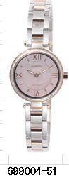 ##ωミラックス RICOH リコー腕時計(レディス)【699004-51】ステンレスバンド