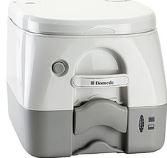##ωDometic ドメティック ポータブルトイレ【Toilet 972】汚物タンク容量9.8L 蓄圧水洗方式 本体重量5.4kg 樹脂素材