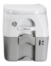 ####ωDometic ドメティック ポータブルトイレ【Toilet 976】汚物タンク容量18.9L 蓄圧水洗方式 本体重量5.9kg 樹脂素材