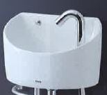 TOTO壁掛手洗い器(丸型)【LSE90BAPRT】タオルバーありボトルトラップ(旧品番LSE90BAPT)