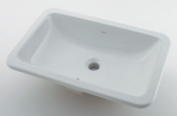 カクダイ【#VR-5475B0030642】角型洗面器