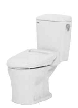 ネポン 簡易水栓便器【ATW-50H】ホワイトプリティーナ エロンゲート暖房便座 手洗栓なし