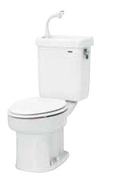 ネポン 簡易水栓便器【ATW-629CBN】ホワイトプリティーナ レギュラーサイズ 暖房無給水タンク 600シリーズ オートフラッパー方式(寒冷地向)
