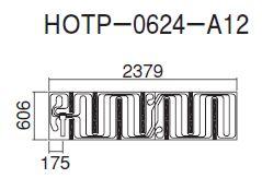 ## ダイキン 床暖房パネル(床材分離型) 【HOTP-0624-A12】ほっとぴあ Aシリーズ
