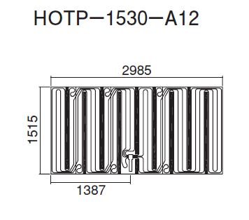 ## ダイキン 床暖房パネル(床材分離型) 【HOTP-1530-A12】ほっとぴあ Aシリーズ
