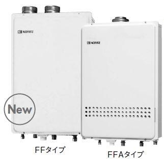 ###♪ノーリツ ガスふろ給湯機【GT-1651SAWX-FFA-2 BL】 設置フリー形 オート 屋内壁掛 強制給排気形 16号給湯タイプ ユコアGT (旧品番GT-1651SAWX-FFA BL)