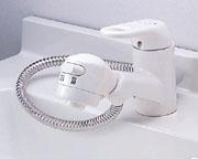◆在庫有り!台数限定!INAX 水栓金具【SF-45S】ホース露出式 シングルレバー 洗髪 シャワー混合水栓 一般地