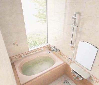 【本物新品保証】 ###INAX/LIXIL グラスティN浴槽【ABND-1100H】サーモバスS エプロン:なし ゴム栓 受注約1週:あいあいショップさくら 満水量質量:220L25kg ハンドグリップ-木材・建築資材・設備