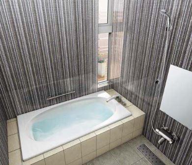 ###INAX/LIXIL グラスティN浴槽【ABN-1400HPR】標準仕様 エプロン:なし 満水量質量:280L34kg プッシュワンウェイ ハンドグリップ 受注約2週