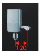 最上の品質な ウォシュレット連動タイプ 給水金具【TEFV80ER】自動フラッシュバルブ 受注約3週:あいあいショップさくら ###TOTO 再生水仕様 オートクリーンC(露出タイプ)-木材・建築資材・設備