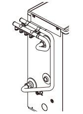 コロナ 温水暖房システム関連部材【UHB-MH-PE2】架橋ポリ4回路ヘッダーセット