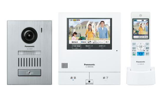 パナソニック ドアホン【VL-SWD505KS】ワイヤレスモニター付テレビドアホン 2-7タイプ