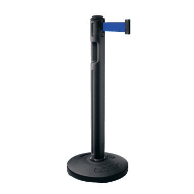 ####u.サンポール/SUNPOLE【BR-500B(BU)】屋外型ベルトリール 本体:ブラック ベルト:ブルー φ89 H993 注水ベース 移動式 受注約3週