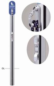 ####u.サンポール/SUNPOLE【LH-401U】リードフック φ60.5 H1012 固定式 ストッパーフック付 サインプレート・クリート付 受注約3週