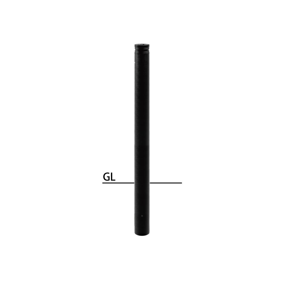 ####u.サンポール/SUNPOLE【LV-162UC-E】アルミヘッドリフター φ76.3 固定式 セラミック塗装 カギ付 エンド用(最終端部) 受注約3週