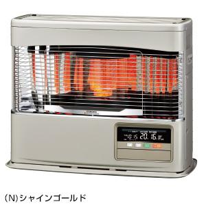 ###コロナ 暖房機器【UH-F7019PK(N)】シャインゴールド 寒冷地用大型ストーブ PKシリーズ FF式輻射+床暖 木造18畳・コンクリート29畳まで