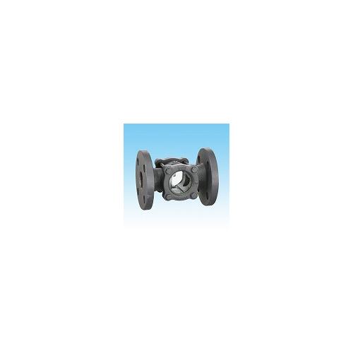 ヨシタケ【SL-1F-50A】透視式サイトグラス FCD製・フランジ 透視式 呼び径50A(2)