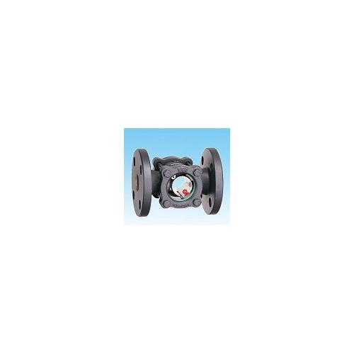 ヨシタケ【SB-1F-32A】ボール式サイトグラス FCD製・フランジ ボール式 呼び径32A(1 1/4)