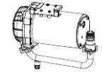▽INAX シャワートイレ用部品【CWA-261】低流動圧 ブースター サティスS600タイプ