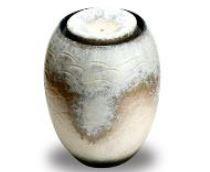 ###£三栄水栓/SANEI【EW20-2】インテリア水琴窟(屋内用) 柄名:白窯変 受注生産
