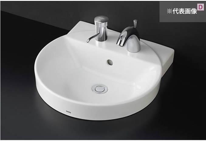 ###TOTO カウンター式洗面器【LS704CM #NW1】(洗面器のみ) ホワイト ベッセル式