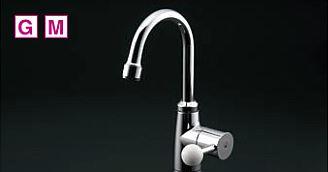 TOTO 単水栓【TL106AQR】スパウト回転式・泡まつキャップ付き 立水栓 ハンドル回転角度90° 一般地・寒冷地共用