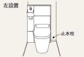 パナソニック アラウーノ専用手洗い【XGH8HGSXKL】背面タイプ タイプAカラー オーク柄 左設置 (手動水栓)