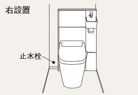 パナソニック アラウーノ専用手洗い【XGH8YGSXTR】背面タイプ タイプAカラー ウォールナット柄 右設置 (手動水栓)