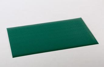 ####u.テラモト 環境美化用品【MR-069-044-1】テラクッション 極厚 グリーン 900×1500